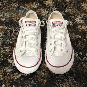 Converse All Star White sneakers Size Kids Youth 3